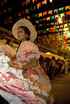 The Brazilian Festa Junina parties can be even bigger than Carnival in some cities with bonfires and fireworks, and plenty of dancing and drinking throughout the night.