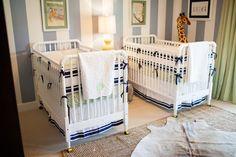 Mais de 20 inspirações de quartos para bebês gêmeos! - Just Real Moms -http://www.justrealmoms.com.br/
