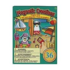 Travel Toy: Penguin Party Magnetic Creations Tin Play Set
