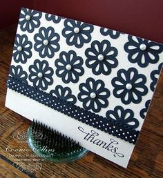 Easy Floral Card with Punch