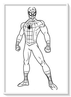 Colouring Pages, Coloring Pages For Kids, Coloring Sheets, Adult Coloring, Coloring Books, Superman Coloring Pages, Spiderman Coloring, Disney Character Drawings, Cartoon Characters