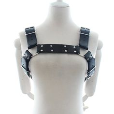 17.26$  Watch now - http://alip04.shopchina.info/go.php?t=32471984834 - New Fetish Body Chest Costume Leather Harness Bondage Restraints Sexy Lingerie Sex Products Gay Leather Sex Toys For Men 17.26$ #magazine