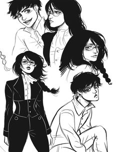 love: the kind you clean up with a mop and bucket — here are some levihan babby doodles from the past...
