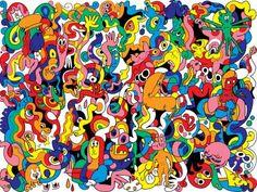 Image result for jon burgerman artwork