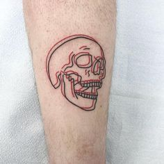 Funny Small Tattoos, Small Tattoos For Guys, Different Tattoos, Feminine Skull Tattoos, Small Skull Tattoo, Red Tattoos, Star Tattoos, Body Art Tattoos, Wing Tattoos