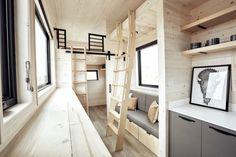 The ship-inspired Land Ark tiny house has a surprising minimalist interior | Inhabitat - Green Design, Innovation, Architecture, Green Building
