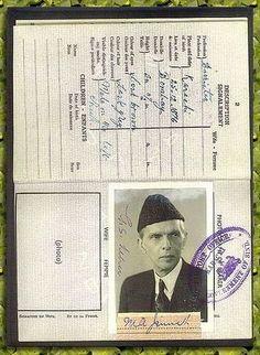 Passport - Jinnah