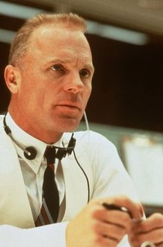 """We""ve never lost an American in space, we""re sure as hell not going to lose one on my watch! Failure is not an option."" Ed Harris in ""Apollo 13""."