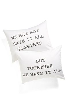 Levtex 'We Have It All' Pillowcase Set available at #Nordstrom