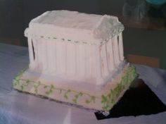 How to make a parthenon cake