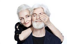 OLDUSHKA Old Couple Photography, Hair Photography, Ballet Photography, People Photography, Older Couple Poses, Couple Posing, Couple Shoot, Cute Old Couples, Couples In Love
