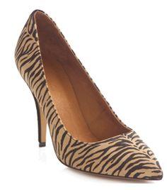 Zebra Print Heels by Isabel Marant #matchesfashion