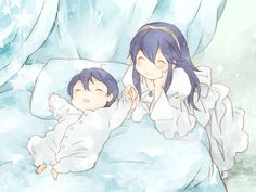 Lucina and baby Morgan!