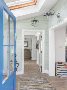 Entryway | Foyer | Cottage | Nautical Lighting | Baskets