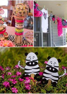 Baby Shower Zebra Theme Party | zebra-themed-baby-shower3