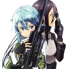 Resultado de imagen para fotos de anime la espada en línea de sinon