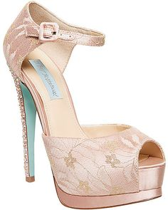 0d8a92cdd936 For a sophisticated wedding option choose Betsey Johnson s SB-VEIL evening  sandals. With a crystal kissed stiletto heel and lacey ankle strap