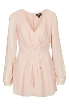 Check out and shop this Topshop Pleat Front Chiffon Romper at Topshop Pleat Front Chiffon Romper at http://rstyle.me/~SAGt