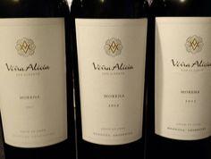 Viña Alicia Morena 2011 2012 y 2013. El 2011 para tomarse toda la botella. El 2013 super potencial de guarda y 2012 Elegante @vinaaliciawine
