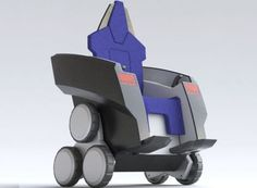 Mobility for the Elderly: A comfortable mobility device with intuitive controls