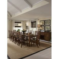World Menagerie Birchley Extendable Solid Wood Dining Table Solid Wood Table Tops, Extendable Dining Table, Dining Room Furniture, Breakfast Nook Dining Set, Solid Wood Dining Set, Solid Wood Dining Table, Parsons Dining Chairs, Nook Dining Set, Wood Dining Table