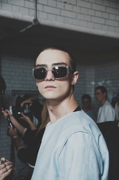 Non-traditional tailoring and sportswear meet with perfect precision at Lou Dalton SS15 London Collections: Men. More images here: http://www.dazeddigital.com/fashion/article/20296/1/lou-dalton-ss15