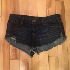 BDG jean shorts Urban outfitters classic shorts. A bit cheeky/high waisted. I have too many pairs of these so I need to only keep the ones that fit! Urban Outfitters Shorts Jean Shorts