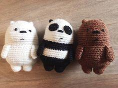Mesmerizing Crochet an Amigurumi Rabbit Ideas. Lovely Crochet an Amigurumi Rabbit Ideas. Crochet Kawaii, Crochet Bear, Cute Crochet, Crochet Crafts, Crochet Dolls, Crochet Projects, Crochet Stitch, Diy Crafts, Crochet Animal Patterns