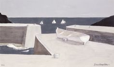 John Knapp Fisher, 'Yachts Off Porthgain'