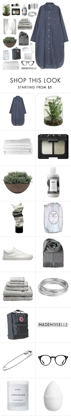 """""""english girls"""" by nothing-like-the-rain ❤ liked on Polyvore featuring Frette, NARS Cosmetics, Winward, R+Co, Aesop, Fresh, Vans, Superior, Worthington and Fjällräven"""