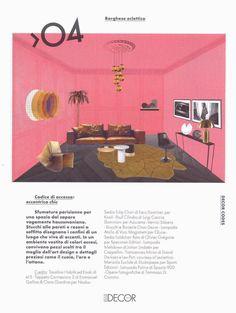 Ad Abitare 100% Project Elle Decor Italia presenta sei scenografie per raccontare il legame il legame tra artigianato e design contemporaneo e declinare altrettanti modi di abitare.  #parquet #parquetlovers