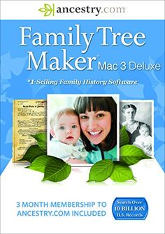 This site is about free family tree services to discover your family history and ancestry. You get the full set of services for free right from the start Family Tree Maker, Ancestry, Family History, Genealogy, Software, Mac, Books, Nova, Amazon