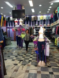 Zinha Esculudes shops for her clients