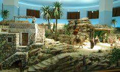 Foro de Belenismo - Nuestros belenes -> Gran Belén del Cincuentenario en Alicante, 1ª Parte Diy Nativity, Christmas Nativity Scene, Christmas Villages, Nativity Sets, Belem, Diorama, Mount Rushmore, Design Art, Miniatures