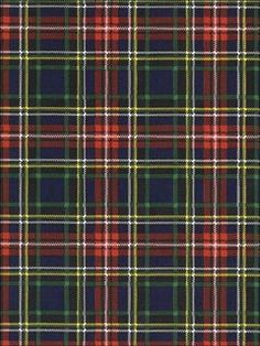 Classic, cozy Ralph Lauren plaid wallpaper- excellent for the home office