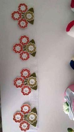 Crochet Edging Patterns, Crafts, Craft Ideas, Crochet Flowers, Cross Stitch, Crocheting, Tejidos, Needlepoint, Manualidades