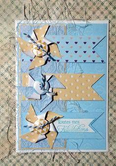 Carte double à offrir pour la naissance d'un bébé, garçon... http://www.alittlemarket.com/cartes/fr_carte_double_a_offrir_pour_la_naissance_d_un_bebe_garcon_-17352123.html