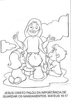 Baú de Recursos para o Ministério Infantil: 10 Mandamentos