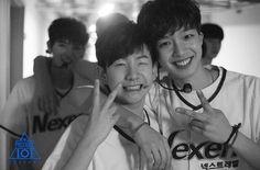 Lim Youngmin (임영민) & Lee Woojin - a Member of TheEastLight(이우진)