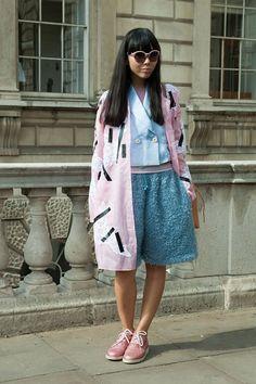 Неделя моды в Лондоне S/S 2015: street style. Часть I (фото 11)