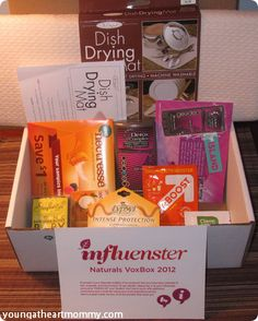 Young At Heart Mommy: Influenster: Naturals VoxBox Fall 2012 #influenster #voxbox #naturals