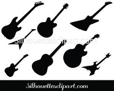 Eight beautifully designed Guitar Silhouette Vector graphics to design any music related flyers, brochures, websites and newsletters in EPS format. Music Silhouette, Shadow Silhouette, Silhouette Vector, Any Music, Vector Format, Vector Graphics, Vector Design, Quilt Patterns, Pastries
