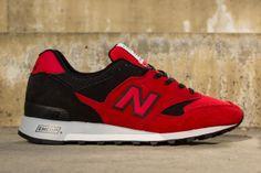 New Balance 577 - Red / Black
