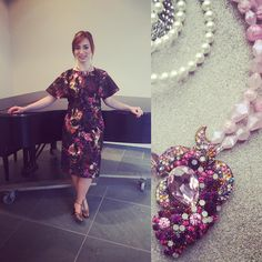 Go to the Inspiring Beauty Gala in style with this SV Style dress and Reckless Necklace necklace! Memorial Art Gallery, Local Artists, Unique Gifts, Fashion Dresses, Store, Instagram Posts, Inspiration, Beauty, Original Gifts