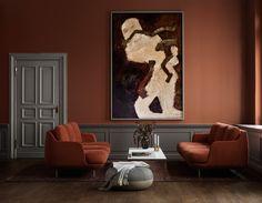 a modular sofa concept called Lune™️ by Fritz Hansen and Jaime Hayon