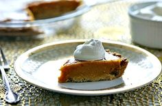 Squash Pie with Ginger Crust