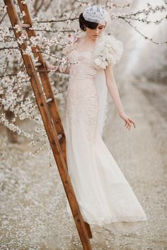 Wedding gown / photo by this modern romance