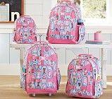 Mackenzie Aqua Kitty Backpacks