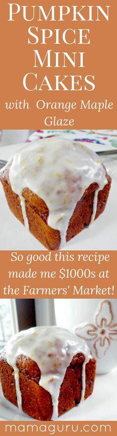 Pumpkin Spice Cake • Pumpkin Bread •Thanksgiving Dessert • Pumpkin Spice