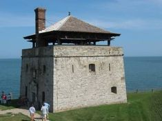 You Need Gardening Insurance For Anyone Who Is A Managing A Gardening Organization Old Fort Niagara Tower Building, Old Building, Cabin Design, House Design, Old Fort Niagara, Small Castles, Safe Room, Tower House, Fantasy Castle